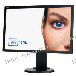"""MONITOR NEC LCD 22"""" E222W BK DVI SWIVEL PIVOT"""