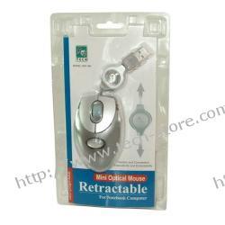 MYSZ A4-TECH BW-18K-3 MINI OPTYCZNA USB SREBRNA