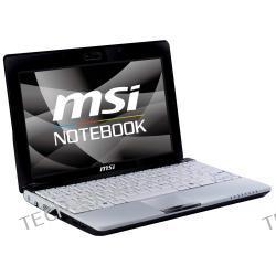 MSI WIND U123H-045PL Atom N280 1GB 10 160GB INT950 Win7 Starter (BIAŁO-CZARNY, modem 3.5G-HSDPA) + karta SIM Orange (gratis) - możliwość odzyskania do 610zł