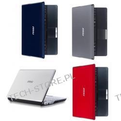 MSI WIND U123H-059PL Atom N280 1GB 10 160GB INT950 Win7 Starter (CZERWONO-CZARNY, modem 3.5G-HSDPA) + karta SIM Orange (gratis) - możliwość odzyskania do 610zł
