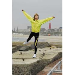 Wiatrówka do biegania Rogelli Delaware zielona damska
