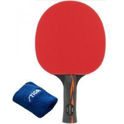 Rakietka do tenisa stołowego Stiga Menkar*** + frotka gratis
