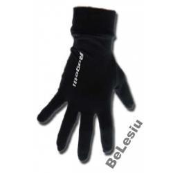 Rękawiczki do biegania Rogelli czarne unisex