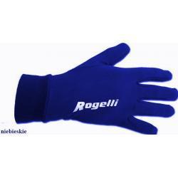 Rękawiczki do biegania Rogelli niebieskie unisex