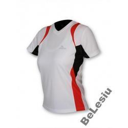 Koszulka do biegania Rogelli Alta czerwona damska