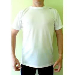 Koszulka do biegania Rogelli Promo biała męska