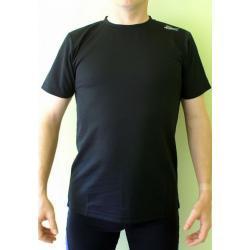 Koszulka do biegania Rogelli Promo czarna męska