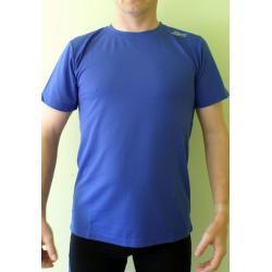 Koszulka do biegania Rogelli Promo granatowa męska