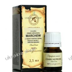 Olejek z Nasion Marchwi 2,5 ml, 100 % Eteryczny Aromatika