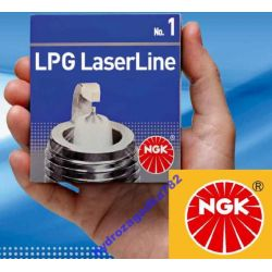 SWIECE ZAPLONOWE NGK LASER LINE 7 LPG GAZ DO GAZU