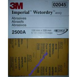 3M PAPIER SCIERNY WODNY WETODRY 401Q 2500 MAGIC