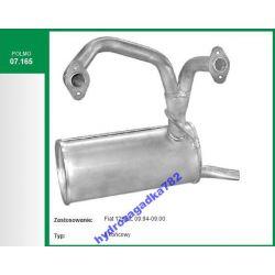 TLUMIK KONCOWY FIAT 126P EL ELEGANT 07.165 AL