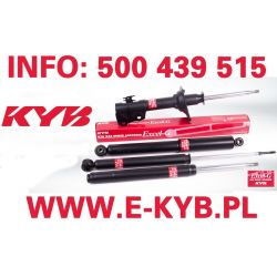 KYB 343808 AMORTYZATOR AMORTYZATORY CITROEN C1/ PEUGEOT 107/ TOYOTA AYGO 06/05 - TYL GAZ EXCEL-G KAYABA...