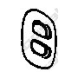 255-729 BSL 255-729 WIESZAK TLUMIKA OPEL CORSA A , KADETT GUMOWY BOSAL CZESCI MONTAZOWE BOSAL [850406]...