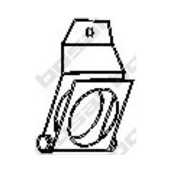 251-159 BSL 251-159 WIESZAK TLUMIKA MERCEDES 207D,208D,307D METALOWY BOSAL CZESCI MONTAZOWE BOSAL [860861]...