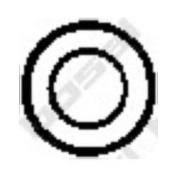 258-121 BSL 258-121 TLUMIK- AKCESORIA PODKLADKA M 8 21X4 BOSAL CZESCI MONTAZOWE BOSAL [861593]...