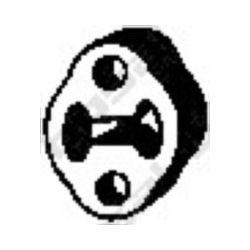 255-385 BSL 255-385 WIESZAK TLUMIKA FORD TRANSIT GUMOWY BOSAL CZESCI MONTAZOWE BOSAL [861848]...