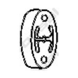255-217 BSL 255-217 WIESZAK TLUMIKA LANOS HONDA ROVER GUMOWY BOSAL CZESCI MONTAZOWE BOSAL [862274]...