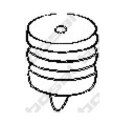 255-001 BSL 255-001 WIESZAK TLUMIKA MERCEDES 123 124 201 GUMOWY BOSAL CZESCI MONTAZOWE BOSAL [871885]...