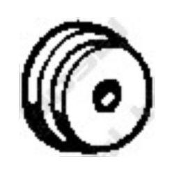 255-967 BSL 255-967 WIESZAK TLUMIKA NISSAN , OPEL GUMOWY BOSAL CZESCI MONTAZOWE BOSAL [872774]...