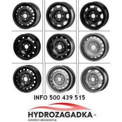 8315 ALC 8315 FELGA STALOWA SUZUKI SX4/FIAT SEDICI 6X16 5X114.3X60 ET50 SZT ALCAR ALCAR FELGI STALOWE ALCAR [884233]...