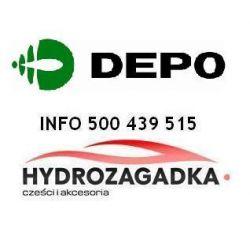 0207G03 DE 0207G03 SZKLO LUSTERKA WKLAD OGRZEWANY WYPUKLY NIEBIESKIE LEWY 3D/5D SZT DEPO ABAKUS LUSTERKA DEPO [902979]...