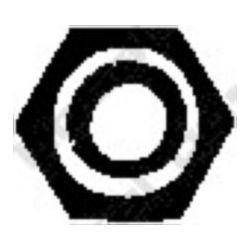 258-026 BSL 258-026 TLUMIK- AKCESORIA NAKRETKA M 6 PEUGEOT BOSAL CZESCI MONTAZOWE BOSAL [947615]...