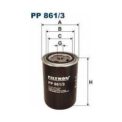 PP 861/3 F PP861/3 FILTR PALIWA DAF 95XF,75,85,65 = F PP 861/1 SZT FILTRY FILTRON [849085]...