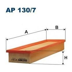 AP 130/7 F AP130/7 FILTR POWIETRZA CIT.BERLINGO II C2/C3 1.1/1.4 SZT FILTRY FILTRON [849965]...