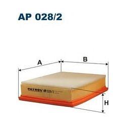 AP 028/2 F AP028/2 FILTR POWIETRZA BMW SERIE 3 /E46/, SERIE 5 /E39/ SZT FILTRY FILTRON [850555]...