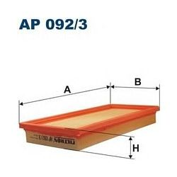 AP 092/3 F AP092/3 FILTR POWIETRZA FIAT STILO 1.2I 16V 10/01- ; SZT FILTRY FILTRON [850557]...