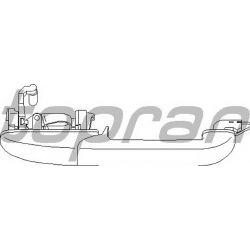 108 479 HP 108 479 KLAMKA ZEWN TYL PRAWA VW PASSAT B4 93-96 OE 3A0839206A SZT HANS PRIES MULTILINIA HANS PRIES [850784]...