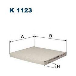 K 1123 F K1123 FILTR KABINOWY TOYOTA COROLLA 1.4/1.6/1.8 02 SZT FILTRY FILTRON [851086]...
