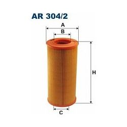 AR 304/2 F AR304/2 FILTR POWIETRZA NISSAN PATROL 2.7TD 5/98- SZT FILTRY FILTRON [851088]...