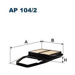 AP 104/2 F AP104/2 FILTR POWIETRZA HONDA CIVIC 1,4I/1,5 VTEC/1,6I 2/01- SZT FILTRY FILTRON [851199]...