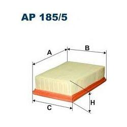 AP185/5 F AP185/5 FILTR POWIETRZA RENAULT MEGANE II/SCENIC III 1.5DCI/1,6 16V/2,0 16V/2,0 16V TURBO SZT FILTRY FILTRON [851797]...