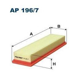 AP 196/7 F AP196/7 FILTR POWIETRZA CITROEN C3 II 1.1I, 1.4I PEUGEOT 207 1.4I (SIL. TU3AE5) SZT FILTRY FILTRON [852735]...