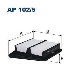 AP 102/5 F AP102/5 FILTR POWIETRZA HONDA ACCORD IX 2.0I (R20A3) 7/08 ; SZT FILTRY FILTRON [853078]...