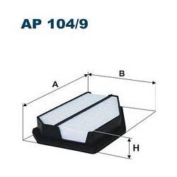 AP 104/9 F AP104/9 FILTR POWIETRZA HONDA CIVIC 2.0 TYPE-R 06 SZT FILTRY FILTRON [853079]...