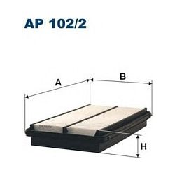 AP 102/2 F AP102/2 FILTR POWIETRZA HONDA ACCORD 2.0I 16V 10/89- 2.2I 16V 1/90- SZT FILTRY FILTRON [853765]...