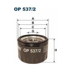 OP 537/2 F OP537/2 FILTR OLEJU ALFA 147/156 FIAT IDEA/MULTIPLA/PUNTO III/STILO 1.9JTD 00- SZT FILTRY FILTRON [853802]...