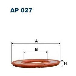 AP 027 F AP027 FILTR POWIETRZA MERCEDES 200 200T BMW 320 625 630 728 SZT FILTRY FILTRON [854675]...