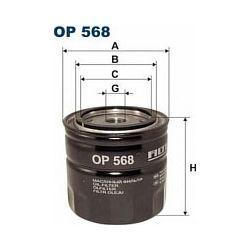 OP 568 F OP568 FILTR OLEJU FORD ESCORT 1,3LX ENG.CHT -86 VOLVO 1,8 95-97 SZT FILTRY FILTRON [854687]...