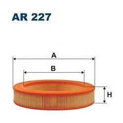 AR 227 F AR227 FILTR POWIETRZA HONDA CIVIC 1,3 PONY 1,3 1,5 SZT FILTRY FILTRON [854713]...