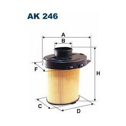 AK 246 F AK246 FILTR POWIETRZA CITROEN AX 1.0/4 BX PEUGOT 106 1.1 SZT FILTRY FILTRON [854833]...