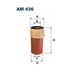 AM 436 F AM436 FILTR POWIETRZA NISSAN URVAN 2,3D-89 2,5D 88- SZT FILTRY FILTRON [854836]...