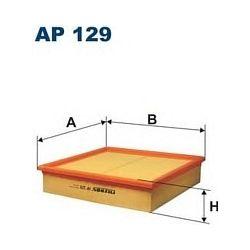 AP 129 F AP129 FILTR POWIETRZA OPEL OMEGA B 2,5TD 94- SZT FILTRY FILTRON [854957]...