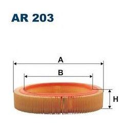 AR 203 F AR203 FILTR POWIETRZA OPEL ASCONA 1,3N CORSA 1,0 1,2 SZT FILTRY FILTRON [855014]...