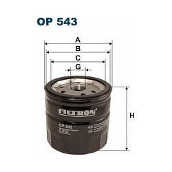 OP 543 F OP543 FILTR OLEJU FORD TRANSIT 80 100 130 160 86- SZT FILTRY FILTRON [855044]...