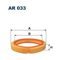 AR 033 F AR033 FILTR POWIETRZA MERCEDES 190 2,0 2,3 W201 -88 SZT FILTRY FILTRON [855109]...